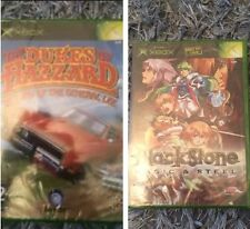 Rare Xbox Original Games Brand New Sealed Dukes Of Hazard & Blackstone FREE P&P