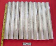 "10 Pieces 1-3/8"" ALUMINUM 6061 ROUND ROD 12"" LONG STOCK NEW SOLD BAR T6511 1.375"