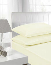 Percale Fitted, Flat & Valance Bed Sheets and Pillowcases Non Iron All Sizes