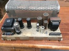 Vintage Executone 25 Watt Vacuum Tube Power Amplifier Model PB-325 Output 6L6