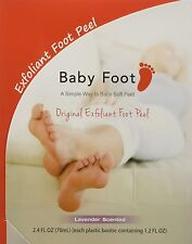 Baby Foot Exfoliant Peel, Lavender Scented | Sealed Original Box