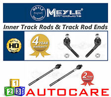 Peugeot 206 Meyle HD Inner Tie Rods & Track Rod Ends 40160205723/4HD 11160310001