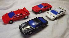 Vintage 80s Artin 1/43  Slot Cars Lamborghini Countach Testerossa Knight Rider