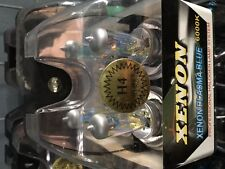 SALE- PAIR OF H4 RAINBOW GREEN/BLUE/GOLD LIGHTING BULBS FIT COMMODORE VS VY VZ