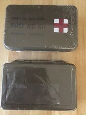 Fresh Military Army First Aide First Aid Kit Surplus, Camping Safety Survival