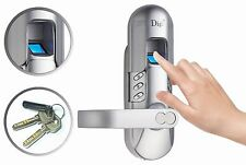 Weatherproof keypad + Fingerprint Door Lock Office Home use 6600-98 Left handle