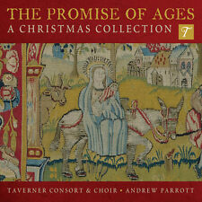 [NEW] CD: THE PROMISE OF AGES: A CHRISTMAS COLLECTION: TAVERNER CONSORT & CHOIR