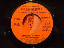 Rockabilly legend DORSEY BURNETTE The Bootleggers/BOB ALL THE PLAYBOYS & ME uNPL