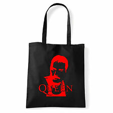 Art T-shirt, Borsa shoulder Queen Freddy Mercury, Nera, Shopper, Mare