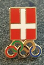 2016 Rio Olympic pin DENMARK NOC Committee