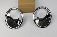 New!!For Suzuki Vitara Escudo 2015 2016 ABS Chrome Front Fog Lamp Light Cover *2