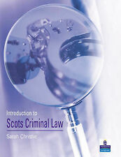 Introduction to Scots Criminal Law by Sarah Christie (Paperback, 2003)