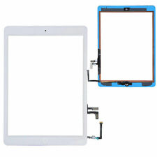 New White Touch Screen Glass Digitizer For iPad Air 5 + Adhesive + Home Button