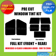 MERCEDES G-CLASS G-WAGON 4-DOOR 1981-2006 FULL PRE CUT WINDOW TINT