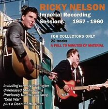 Ricky Nelson - Imperial Recording Sessions 1957-1960 [New CD]