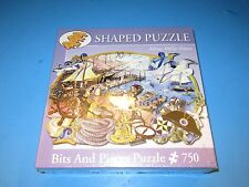 Bits and Pieces 750 Piece Shaped Puzzle, Ready to Set Sail by Elissa Della-Piana