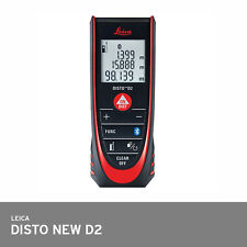Leica Disto D2 2016 Model Laser Distance Meter 100m Bluetooth +/-1.5mm Acuracy