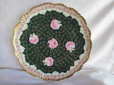 """Old Imperial  China Austria Roses Charger Plate 12.5"""""""