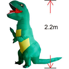 Big Trex Inflatble Dinosaur Halloween Costume for Women Men Dragon Animal Outfit