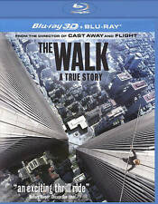 The Walk (Blu-ray Disc, 2016, Includes Digital Copy; 3D)