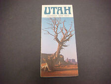 1971 Utah Highway Map, Calvin L Rampton Governor Monument Valley S2469
