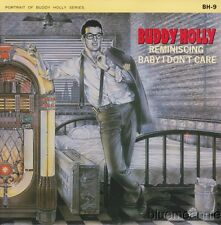 Buddy Holly & Crickets Reminiscing / Baby I Don't Care UK 45 W/PS 1984 Reissue