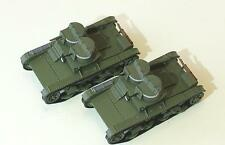 1/72 T-26 1932 Soviet tank 2 turrets WWII Die Cast model Arsenal by your choice