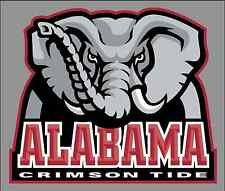 "University of Alabama UA Crimson Tide 6"" Wide Premium Vinyl Decal Sticker - NCAA"