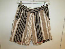 NWT ACE & JIG THE HALL SHORTS IN GRAINSACK SIZE SMALL