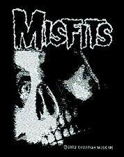 Misfits-skull with eyes-patch écusson-NEUF