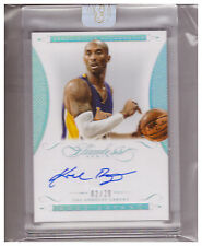 2014-15 Flawless Auto KOBE BRYANT Lakers ASSOCIATION AUTOGRAPH 02/20 Panini