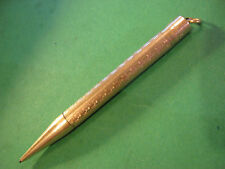 Vtg Pencil Products Corp N.Y. 1919 Gold Filled Mechanical Lead Pencil Works Salz
