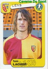 129 YOANN LACHOR FRANCE RC.LENS SERVETTE GENEVE STICKER FOOT 2005 PANINI