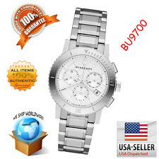 Burberry Watch City Ladies Stainless Steel Case Silver Analog Movement BU9700