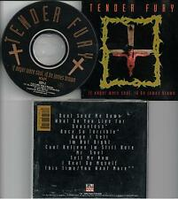 Tender Fury ‎– If Anger Were Soul, Id Be James Brown CD Album 1991