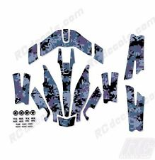 Traxxas Aton Plus Body Wrap Decal Skin Sticker Canopy Digi Camo Navy
