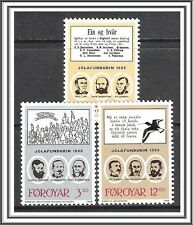 Faroe Islands #179-181 Organizers MNH