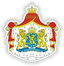 Sticker Coat of Arms of the Netherlands Nederland for Fridge Skateboard Car Door