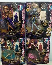 Monster High 13 Wishes Haunt the Casbah Clawdeen/Draculaura/Frankie/Abbey