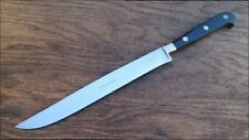UNUSED Vintage Coricama Italy Chef's Hand-forged Stainless Yatagan Slicing Knife