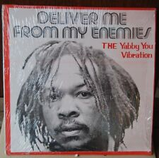 The Yabby You Vibration - Deliver Me From My Enemies VINYL, LP.