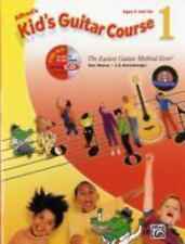 Alfred's Kid's Guitar Course 1: The Easiest Guitar Method Ever! Book & Enhanced