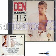 "DEN HARROW ""LIES"" RARE CD BABY RECORDS MADE IN ITALY"