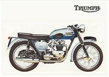 TRIUMPH Poster Bonneville T120 1960 Suitable to Frame