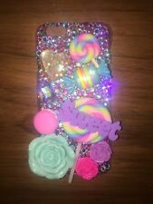 iPhone 6 Custom Handmade Girly Sweets Candy Bling Case