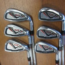 USED BRIDGESTONE TOURSTAGE X-BLADE GR IRONS 5-PW STEEL TRUE TEMPER GS95 S200