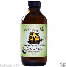 Sunny Isle Jamaican Organic Extra virgin Coconut Oil Replenish & Rejuvenate 4Oz