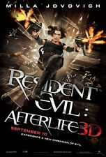 POSTER RESIDENT EVIL MILLA JOVOVICH 2 3 4 AFTER LIFE #2