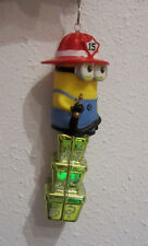 UNIQUE DESPICABLE ME FIREMAN BIRTHDAY OR CHRISTMAS PRESENT DECORATION nora winn