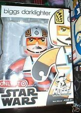 EXCLUSIVE STAR WARS MIGHTY MUGGS BIGGS DARKLIGHTER MIB